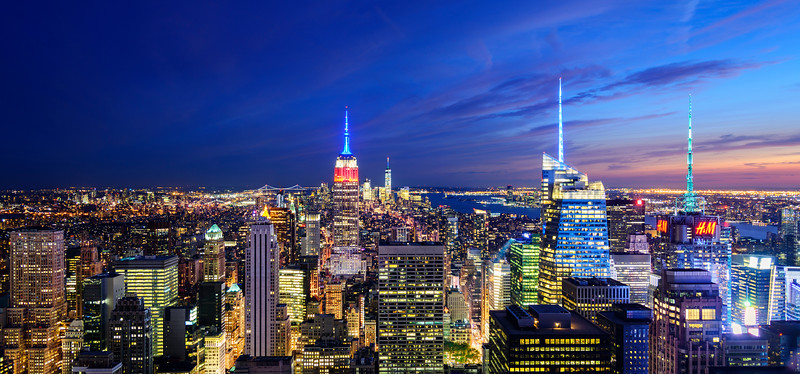 A Night on the Rock  |  New York City