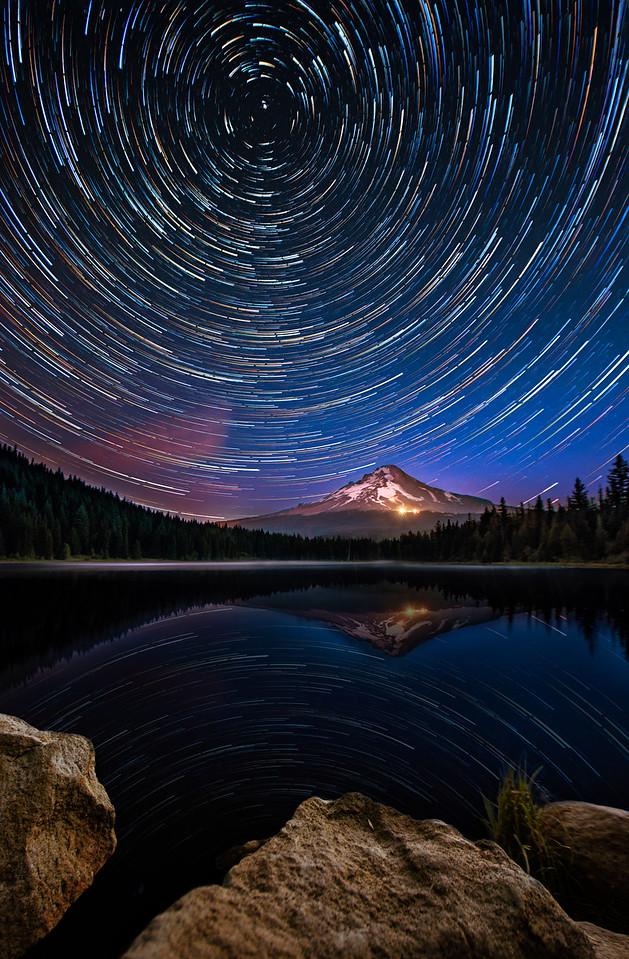 Trillium Starry Night  |  Mt Hood, Oregon