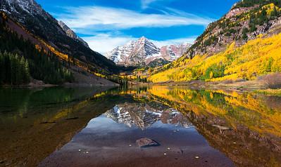 the Serene Maroon Bells  |  Aspen, Colorado