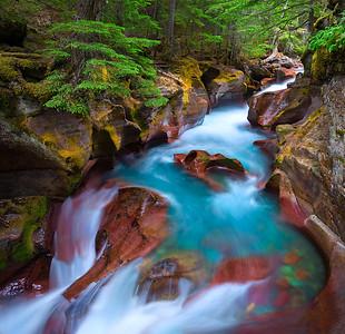 Glacier Rush  |  Glacier National Park, Montana