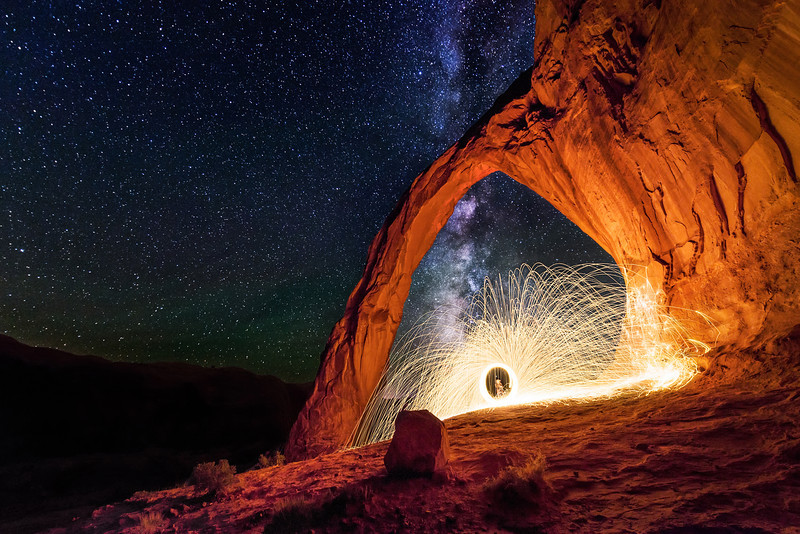 This Arch is on Fire  |  Moab, Utah