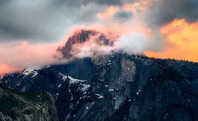 Half Dome's Surprise  |  Yosemite, California