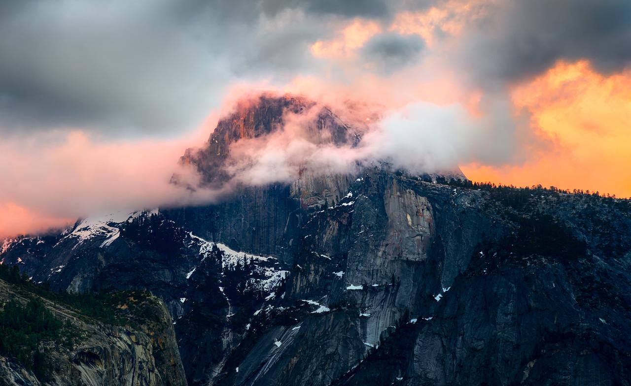 Half Dome's Surprise     Yosemite, California