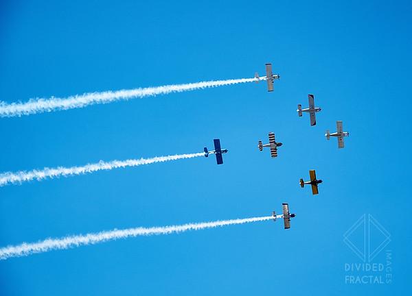 Burnet, Air Show, Airplanes