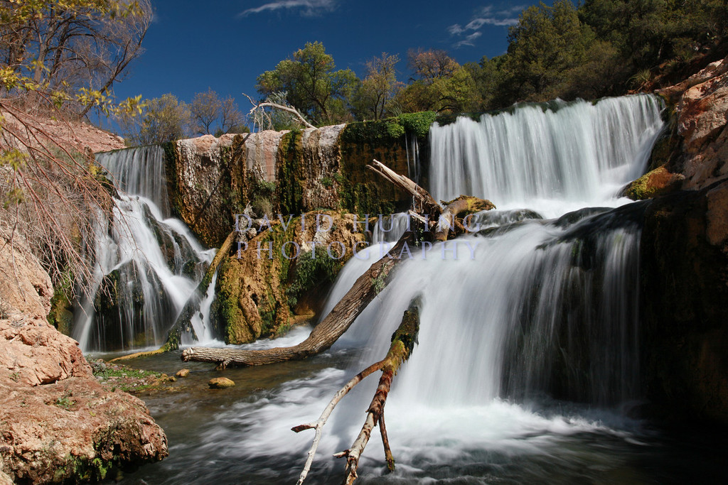 Fossil Springs Flowing