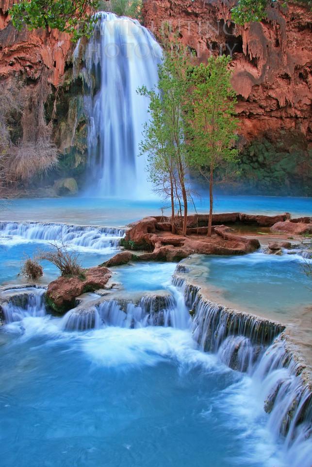 Havasu Falls Flowing