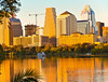 Austin, TX Skyline at sunset