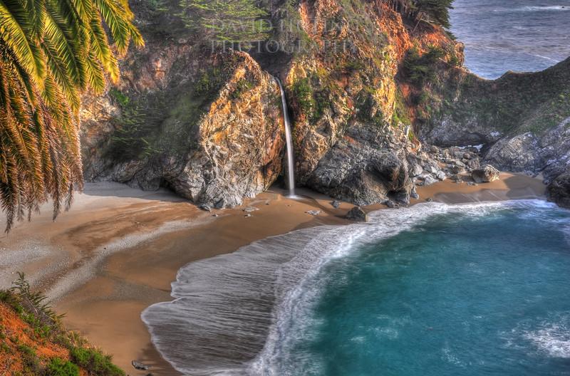 McWay Falls, Big Sur CA (HDR)