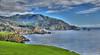 Bixby Bridge View - Green Hills (HDR)