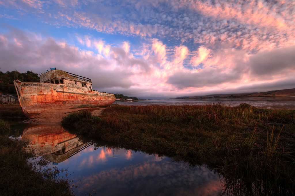 Pristine Coastal Sunrise View<br /> Tomales Bay, Point Reyes