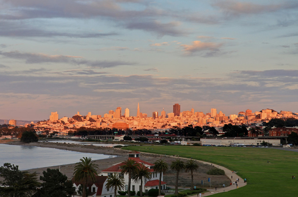Presidio City View Sunset