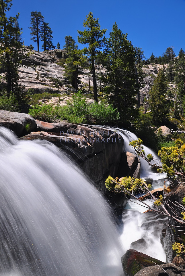 Sunny Falls Flowing<br /> The Sierras