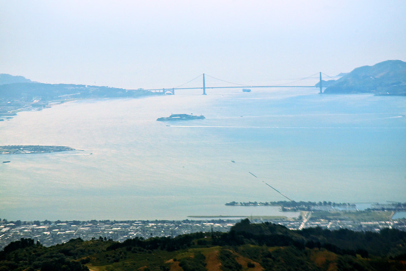 San Fransisco Bay, Alcatraz & the Golden Gate Bridge
