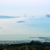 San Fransisco Bay, Alcatraz & the Golden Gate Bridge