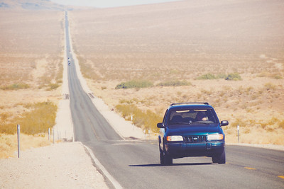 Lonely California Highway