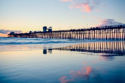 Oceanside Silhouette