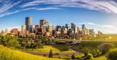 City skyline of Calgary, Canada