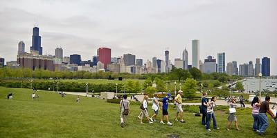 Grant Park Skyline