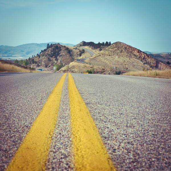 Colorado Mountain Highway