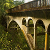 Beautiful old bridge at Shepperd's Dell, Oregon
