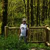 Shaun enjoying Columbia River Gorge