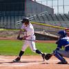 Hayden at bat