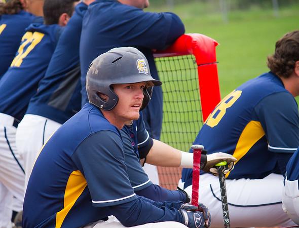 Hayden waiting to bat