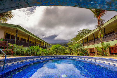 Hotel Lavas Tacotal with an outdoor pool in La Fortuna, Costa Rica
