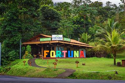 Visitor center at the La Fortuna Waterfall, Costa Rica