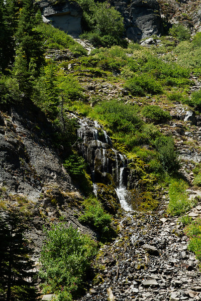 Vidae Falls, near Crater Lake Oregon