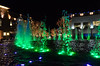 Fountain at Shops at Legacy, Frisco, TX (north of Dallas) and Christmas Lights
