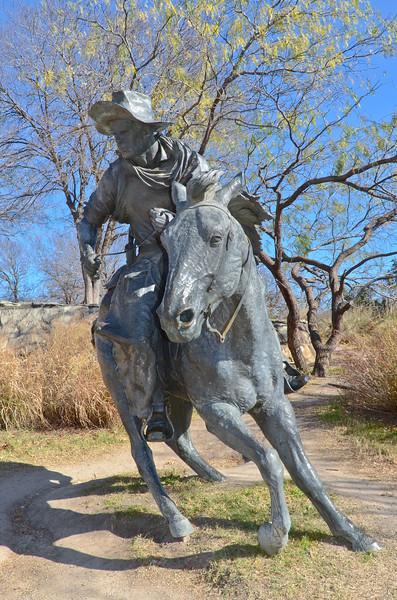 Longhorn Cattle Drive, Pioneer Park, Dallas, TX