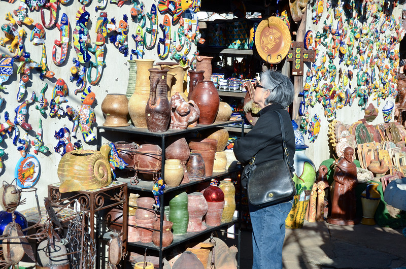 Mexican Pottery Vendor, Dallas, TX