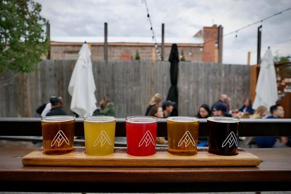 Ratio Beerworks flight