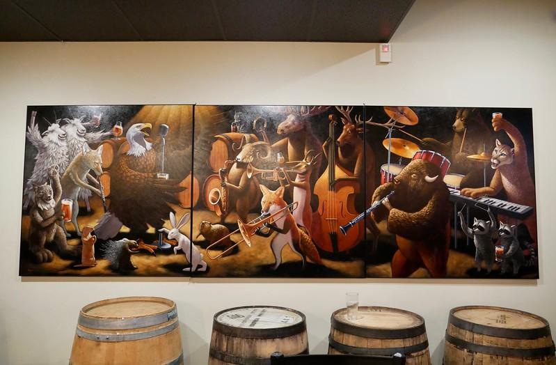 Spangalang wall art