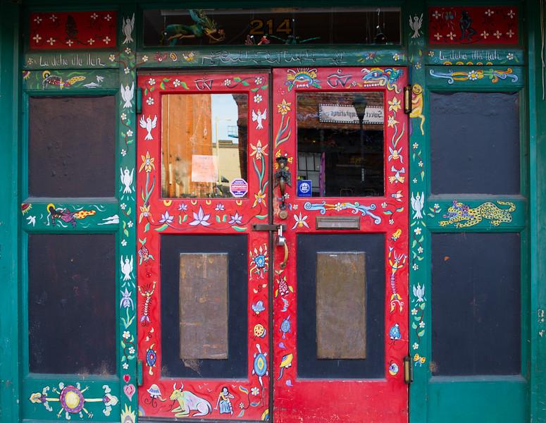 Restuarant Door