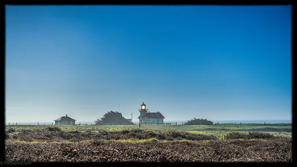 Point Lobos lighthouse