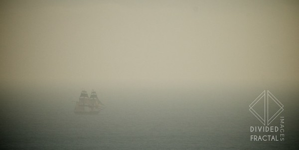 Ghost ships in the fog