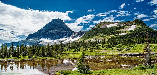 Glacier NAtional Park, Montana USA Jul 2019