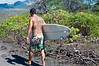 Surfboarder, Maui, Hawaii