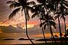 Sunset at Ko Olina, Oahu, Hawaii