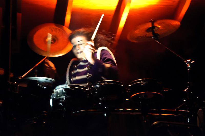 Drummer at Luau Show, Maui, Hawaii