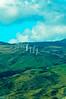 Wind Turbines, Maui, Hawaii