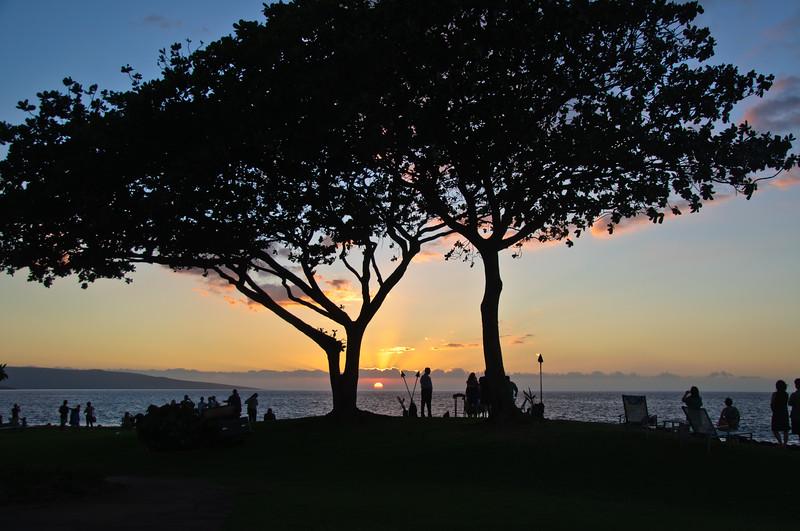 Sunset, Oahu, Hawaii