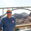 Shaun enjoying the view at Hoover Dam, Nevada
