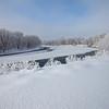 Cedar Bend Wide Snowy View