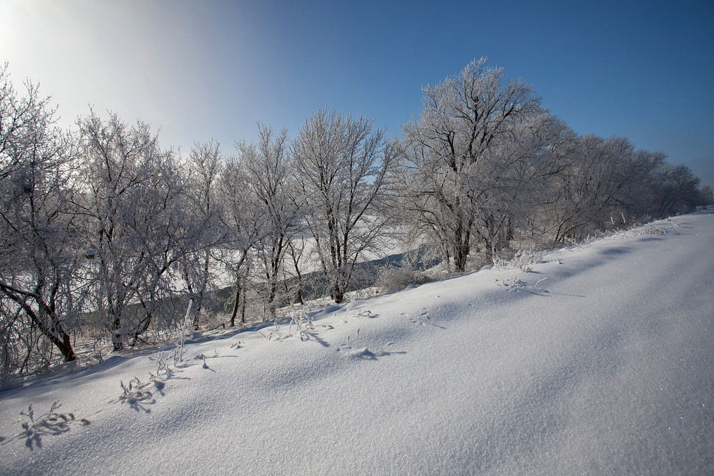 Sparkling Snow Dike view