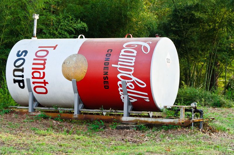 Campbell's Tomato Soup Tank