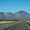 American highway on the way to Kitt mountain Observatory, Arizona