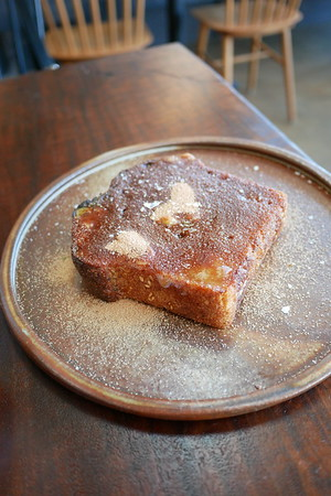 Lodge Bread Company's cinnamon sugar toast